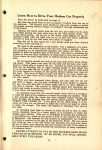 1916 HUDSON Reference Book HUDSON SUPER SIX First Edition AACA Library page 21
