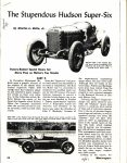 1950 12 HUDSON The Stupendous Hudson Super Six By Charles L Betts Jr PART 2 Motorsport article 85×11 AACA Library page 12