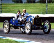 2019 8 1 SVRA Brickyard IMS 1910 National 40 racer CDT and Mechanician Koeppe IMS photo