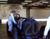 2019 8 1 SVRA Brickyard IMS Brian Blain and 1911 National 40 Indy racer IMS photo
