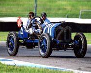 2019 8 1 SVRA Brickyard IMS Brian Blain driving 1911 National 40 Indy racer IMS photo