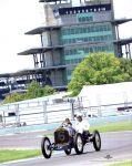 2019 8 1 SVRA Brickyard IMS Pagoda 1910 National 40 racer CDT and Mechanician Koeppe IMS photo