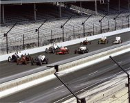 2019 8 4 SVRA Brickyard at IMS Ragtime Racers on the Oval IMS photo 1