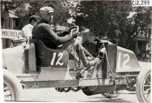 1909 RENAULT Car 12 Crown Point Races Arthur Greiner driver came in 17th photo Burton Historical Collection Detroit Public Library