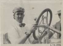 1911 Brighton Beach Races Louis Disbrow driver photo Burton Historical Collection Detroit Public Library