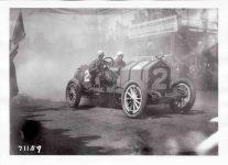 1911 NATIONAL Len Zengle at Fairmount Park Races photo Burton Historical Collection Detroit Public Library