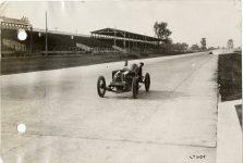 1913 KEETON Indy 500 Bob Burman and passenger photo Burton Historical Collection Detroit Public Library