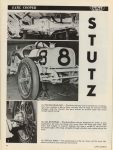 1914 STuTZ EARL COOPER AND STuTZ No. 8 BY FRANK TAYLOR CAR CLASSICS AUGUST 1972 8.25″×11″ page 16