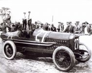 1919 HUDSON Indy 500 Ira Vial driver right side IMS photo