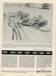 1929 ca. Racing History Feature CROSS IT UP AND STAND ON IT THE LAST OF THE FRONTYS CAR CLASSICS AUGUST 1972 8.25″×11″ page 42