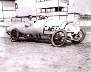 1912 CASE Indy 500 Eddie Hearne Car 5 action shot IMS Photo