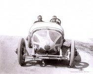 1912 CASE Indy 500 Eddie Hearne Car 6 fronr view IMS Photo