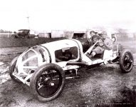 1912 CASE Indy 500 Qualifications Louis Disbrow Car 5 IMS Photo 1