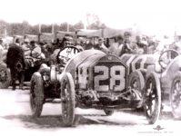 1912 STUTZ Indy 500 Qualifications Charles Merz Car 28 IMS Photo