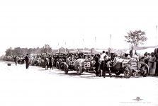 1912 STUTZ Indy 500 STUTZ Len Zengel Car 2 and Charlie Merz Car 28 IMS Photo