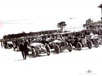 1912 STUTZ Indy 500 STUTZ Len Zengle Car 2 in Line up IMS Photo