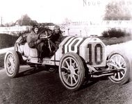 1912 STUTZ with Michelin wheels Indy 500 Gil Anderson in a Car 10 IMS Photo