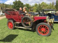 2019 9 28 3:07 pm Ironstone Concurs Murphys, CAL 1906 LOCOMOBILE H7 Pass Touring Ed & Karen Archer 2