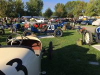2019 9 28 8:28 am Ironstone Concurs Murphys, CAL Ragtime Racers Car 17 a 1916 NATIONAL Six racer, Car 20 a 1911 NATIONAL Indy Racer, Car 19 a 1911 NATIONAL Speedway Roadster