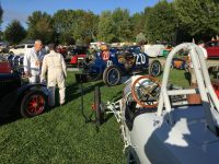 2019 9 28 8:28 am Ironstone Concurs Murphys, CAL Ragtime Racers Vi and Rich Car 20 is a 1911 NATIONAL Indy Racer