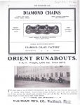 1902 9 24 DIAMOND CHAINS Indianapolis, Indiana THE HORSELESS AGE Automotive Research Library page 12