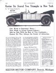 1913 2 1 KEETON Six Scored Two Triumphs in New York THE AUTOMOBILE Automotive Research Library page 112