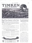 1913 2 6 TIMKIN BEARINGS AXLES THE AUTOMOBILE Automotive Research Library page 113