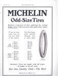 1913 5 28 MICHELIN Odd Sized Tires THE HORSELESS AGE Automotive Research Library page
