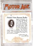 1916 5 11 HUDSON Hudson Vision Becomes Reality MOTOR AGE Front cover
