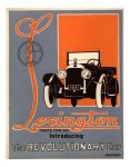 1921 LEXINGTON MINUTE MAN SIX introducing The REVOLUTIONARY Car Automotive Research Library Front cover