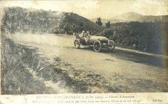 1905 7 5 Gordon Bennett Race France postcard front