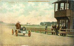1909 ca. BUICK AUTO RACES WEEQUAHIC PARK NEWARK, NJ postcard front