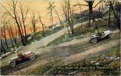 1910 ca. Giants Despair near Prospect Rock Wilkesbarre, Pa postcard front