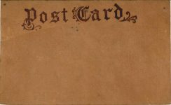 1910 ca. YOU AUTO BE WITH ME IN FRAZEE, MINN Leather postcard back