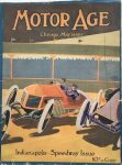 1913 5 29 Indianapolis Speedway Issue MOTOR AGE GC Front cover