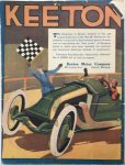 1913 5 29 KEETON Indianapolis Speedway Issue MOTOR AGE GC Back cover