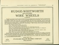1914 3 RUDGE-WHITWORTH WIRE WHEELS COUNTRY LIFE IN AMERICA AACA Library page 29