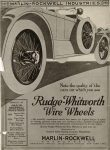 1919 Rudge-Whitworth Wire Wheels MARLIN-ROCKWELL INDUSTRIES ad Detroit Public Library