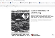 1916 HUDSON Pikes Peak Race Ralph Mulford ROCKY MOUNTAIN NEWS screenshot