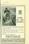 1919 11 8 Illustrated London News MOTOR SUPPLEMENT ad AACA Library