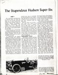 1950 11 HUDSON The Stupendous Hudson Super Six By Charles L. Betts Jr. PART 1 Motorsport article 8.5″×11″ AACA Library page 8