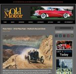 2012 3 12 Peter Helck 1916 Pikes Peak Mulfords Record Climb The Old Motor screenshot 1