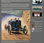 2012 3 12 Peter Helck 1916 Pikes Peak Mulfords Record Climb The Old Motor screenshot 3