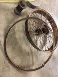 2020 1 24 1916 HUDSON RUDGE Type 62 Long 160mm Centre wheel hub lock ring