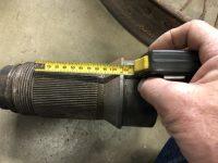 2020 1 24 1916 HUDSON RUDGE Type 62 Long 160mm Centre wheel spline 90mm