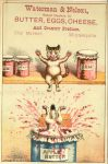 1880 ca. Cats THE RESULT Waterman Nelson Minneapolis 3″×4.5″