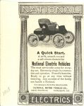 1903 NATIONAL Electric ad 2.5″×4″ a