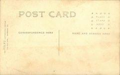 1908 Savannah, GA AUTO RACE COURSE ACME Newsteller Driver RPPC back
