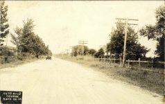 1908 Savannah, GA AUTO RACE COURSE SAVH GA 08 RPPC front
