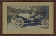 1910 ca NATIONAL Speedway Roadster 8.5″×5″ photo framed front